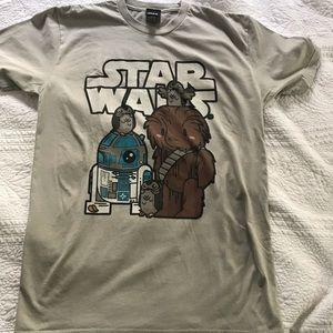 Star Wars T-Shirt Chewy, R2-D2, Porgs